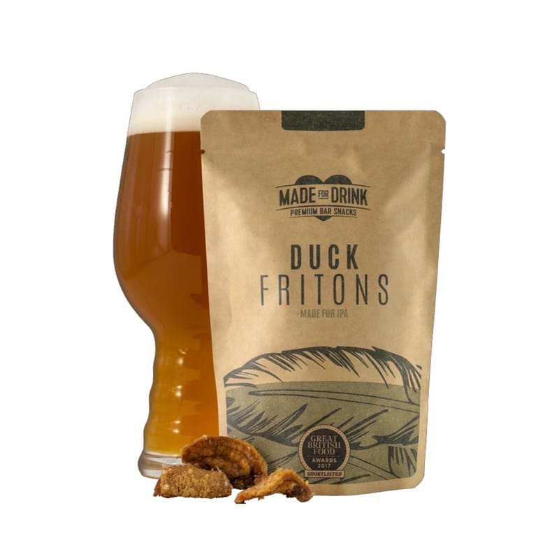 MADE FOR DRINKS Duck Fritons 32g Bag Image