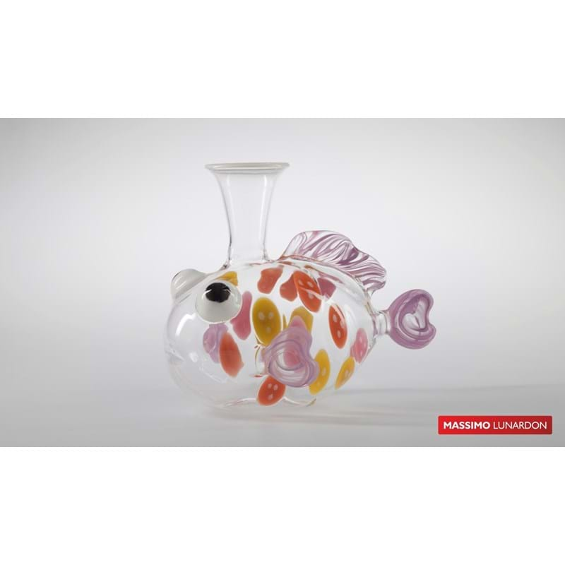 MASSIMO LUNARDON Decanter 'Exotic Fish' (IT-244) Image