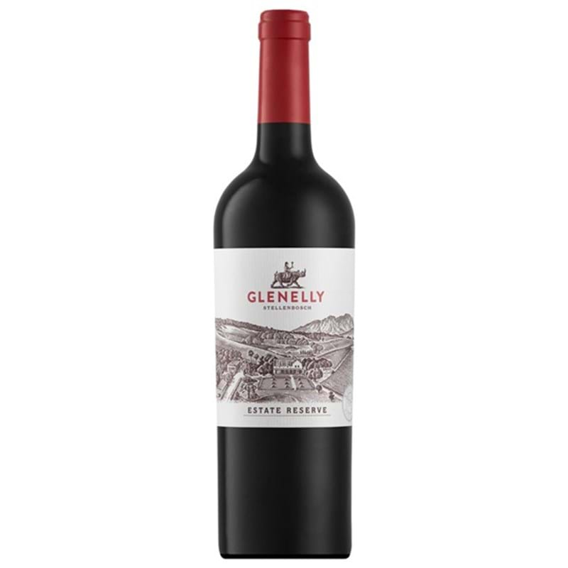GLENELLY Estate Res. Red Blend 2013 Bottle (Syrah,Cabernet,Merlot) VGN Image
