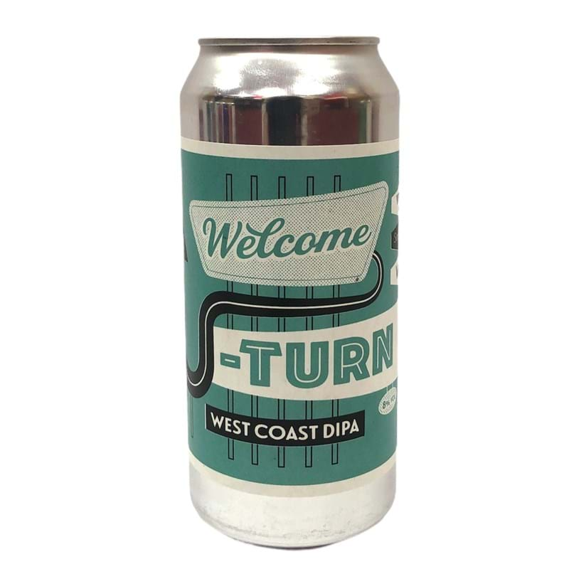 VERDANT Welcome U Turn, West Coast Double Indian Pale Ale CAN (440ml) 8%abv Image