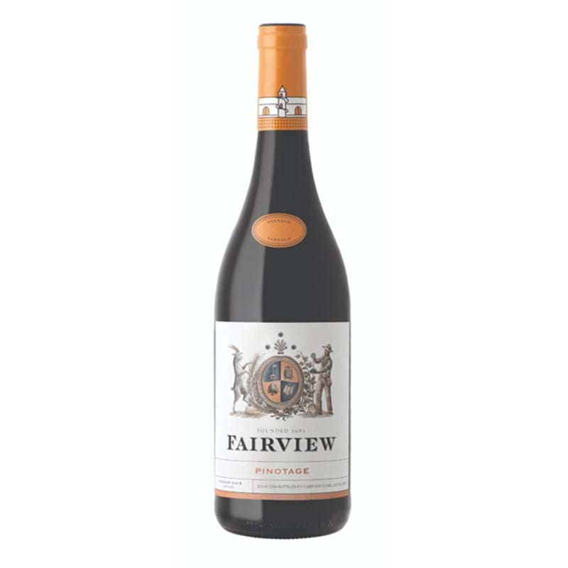 FAIRVIEW Pinotage 2018 Bottle/nc 14%abv Image