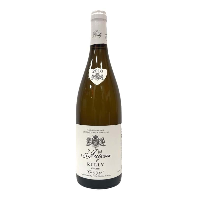 PAUL & MARIE JACQUESON Rully 1er Cru, Gresigny 2018 Bottle Image