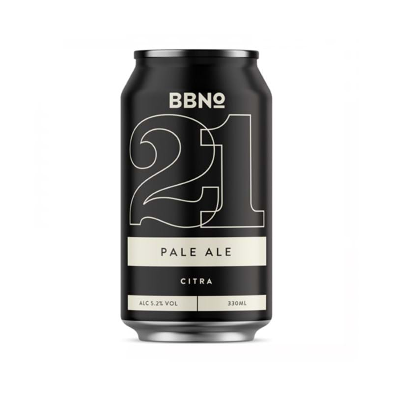 BREW BY NUMBERS 21 Citra Pale Ale 330ml CAN 5.2%abv - VGN Image