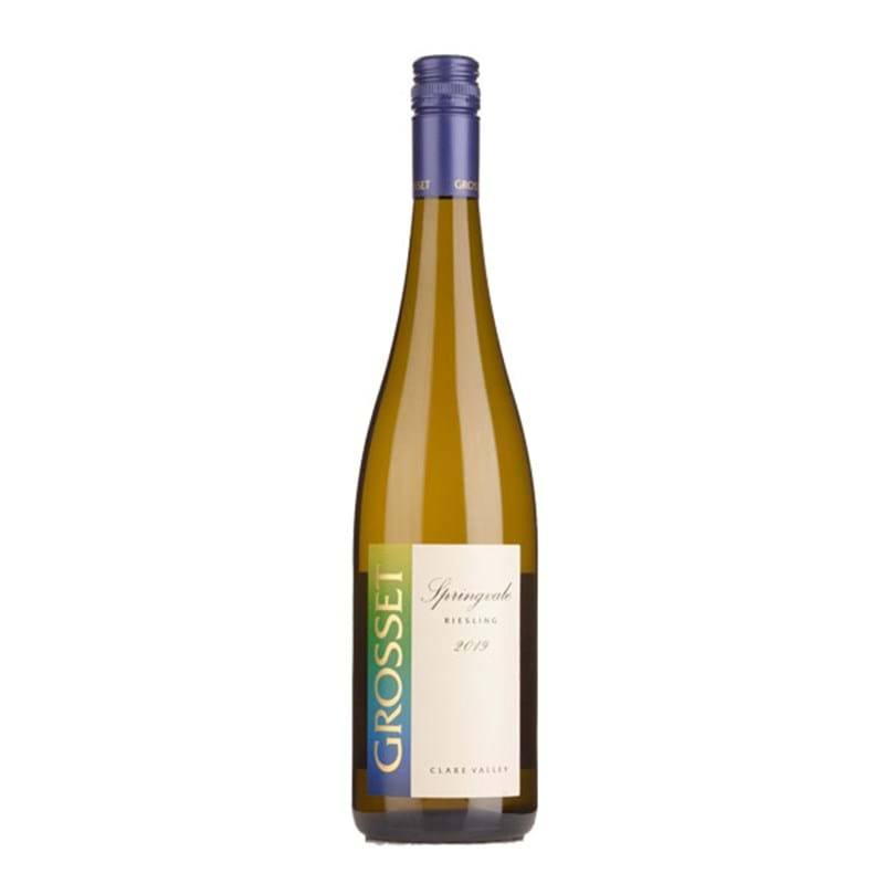 GROSSET Clare Valley Riesling 'Springvale' 2017/19 Bottle/st ORG/VGN Image