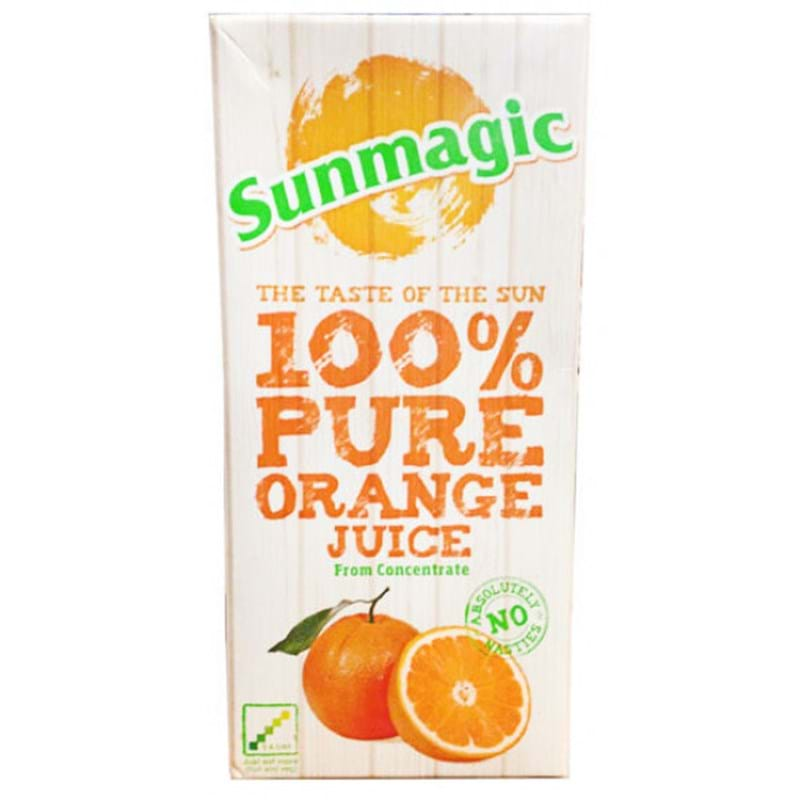 ORANGE JUICE Sun Magic Litre Carton Image