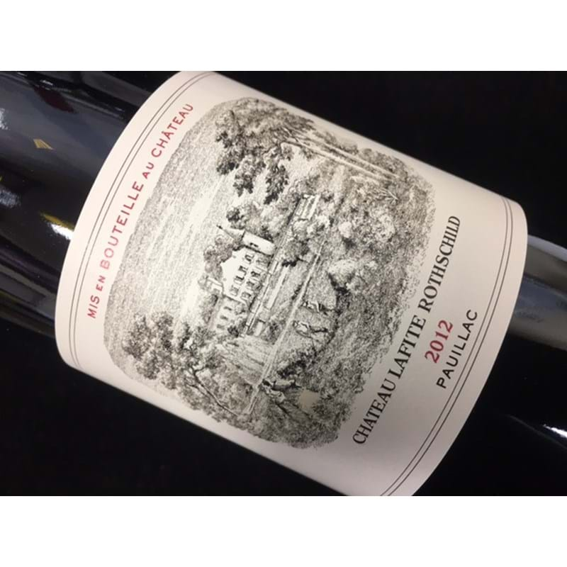 CHATEAU LAFITE-ROTHSCHILD 1er Grand Cru Classe 2012 Bottle(ck) - NO DISCOUNT Image