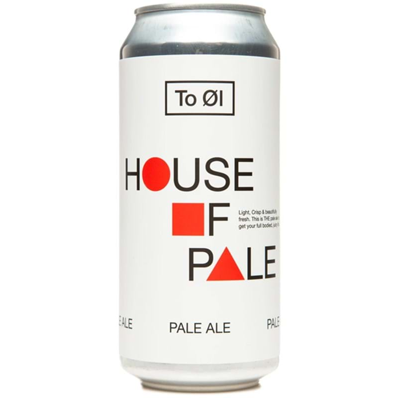 TO ØL (Tool) House Of Pale (Pale Ale) CAN (440ml) 5.5%abv Image