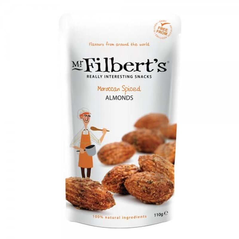 MR FILBERT'S Moroccan Spiced Almonds 110g BAG Image