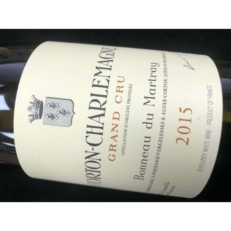 BONNEAU DU MARTRAY Corton-Charlemagne 2015 Bottle/nc - NO DISCOUNT Image