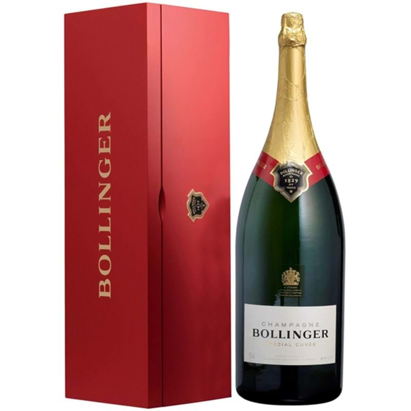 BOLLINGER Brut 'Special Cuvee' (red wood box) Jeroboam (300cl) - NO DISCOUNT Image