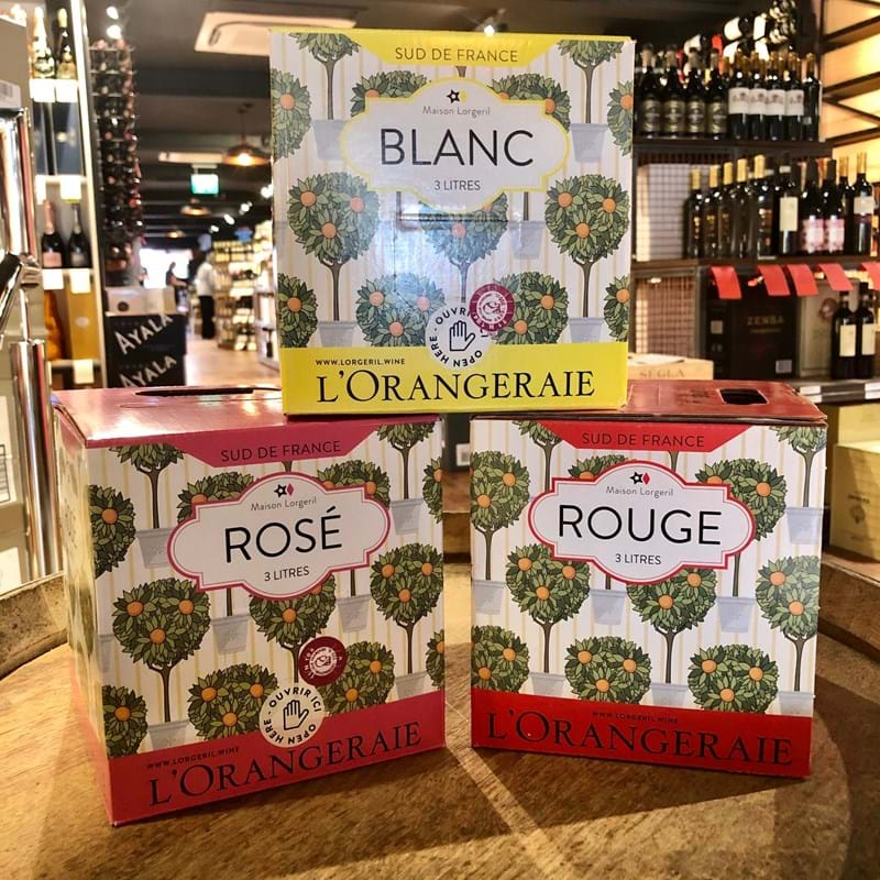 L'ORANGERIE Languedoc White 2019 BAG-IN-BOX 3 Litre Image