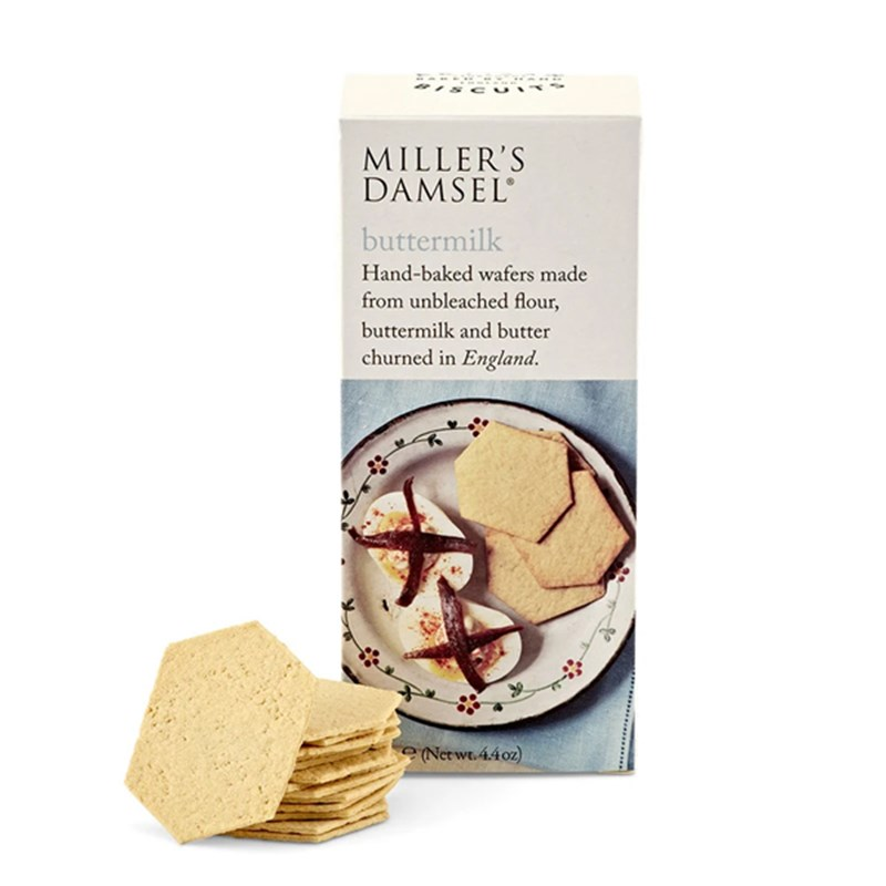 MILLER'S Damsel Buttermilk Wafers 125g Pack Image