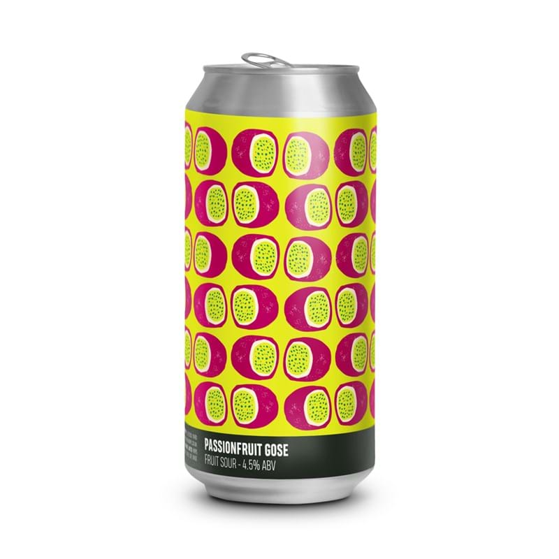 HOWLING HOPS Passionfruit Gose 440ml CAN 4.5%abv - VGN - BBE 24.01.21 Image