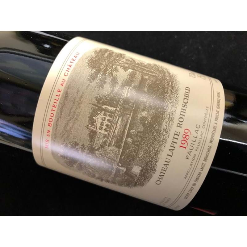 CHATEAU LAFITE-ROTHSCHILD 1er Grand Cru Classe 1989 Bottle(ck) - NO DISCOUNT Image