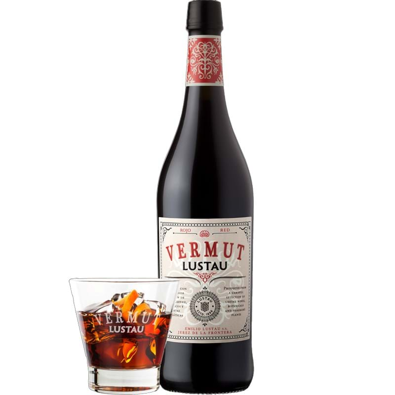 EMILIO LUSTAU Vermut Rojo Medium-Sweet Red Vermouth Bottle (75cl) 15%abv Image