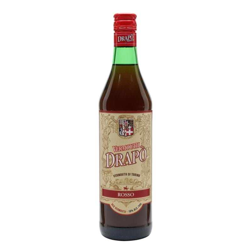 TURIN Drapo Rosso (Red) Vermouth from Italy Bottle (75cl) 16%abv Image