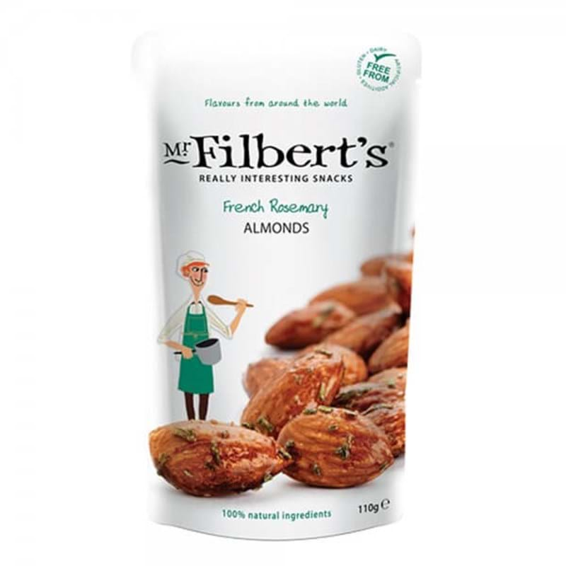 MR FILBERT'S French Rosemary Almonds 110g BAG Image