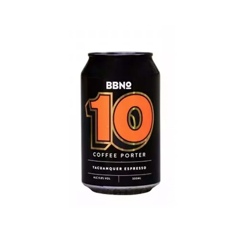 BREW BY NUMBERS 10 Coffee Porter 330ml CAN 9%abv Image
