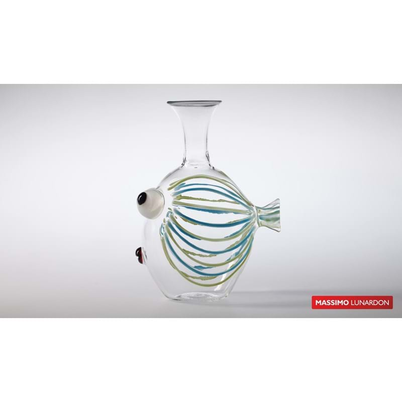 MASSIMO LUNARDON Decanter 'Pesce Imperator' (IT-547) Image