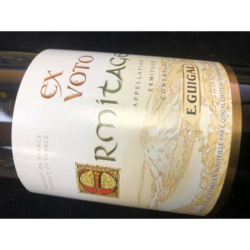 E. GUIGAL Ermitage BLANC Ex Voto 2010 Bottle/nc - NO DISC Image