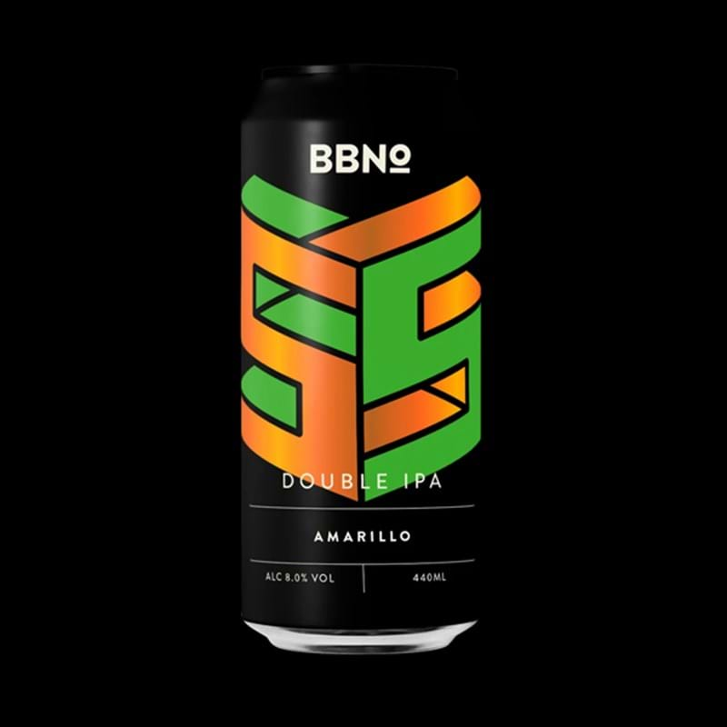 BREW BY NUMBERS 55 Amarillo DIPA 440ml CAN 8%abv - BBE 05.01.21 Image