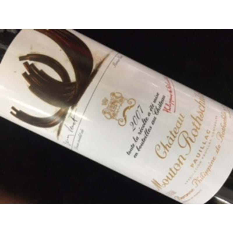 CHATEAU MOUTON ROTHSCHILD 1er Grand Cru Classe 2007 Bottle - NO DISCOUNT Image