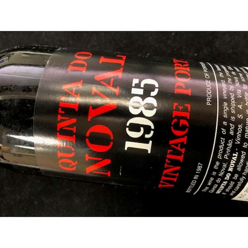 1985 QUINTA DO NOVAL Vintage Port Bottle (los) Image