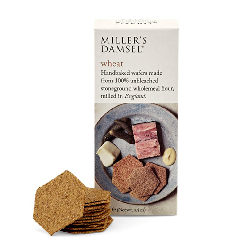 MILLER'S Damsel Wheat Wafers 125g Pack Image