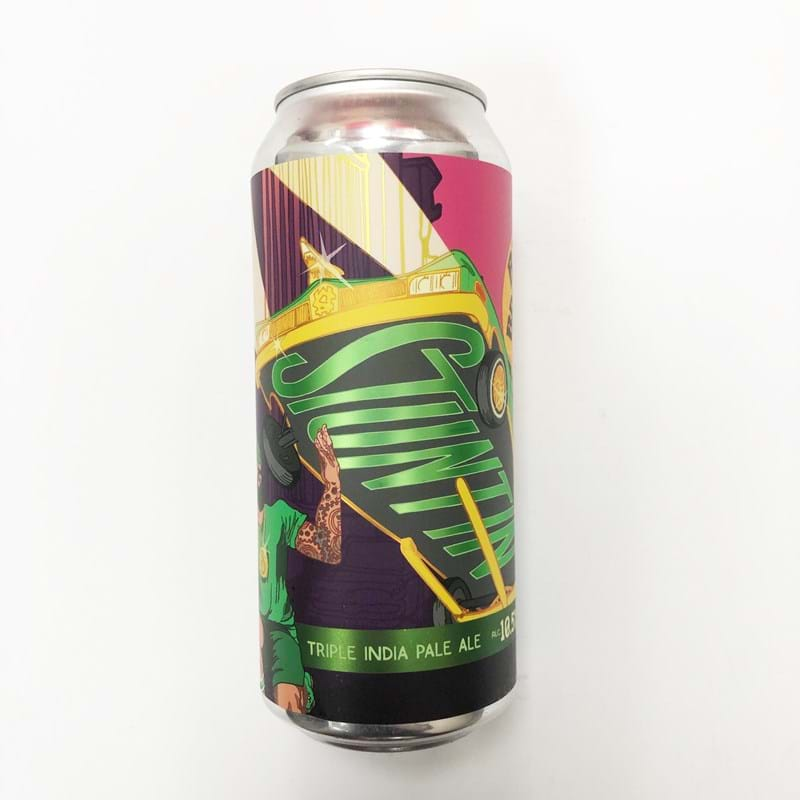 BARRIER BREWING CO. Stuntin Triple IPA 10.5%abv CAN (473ml) Image