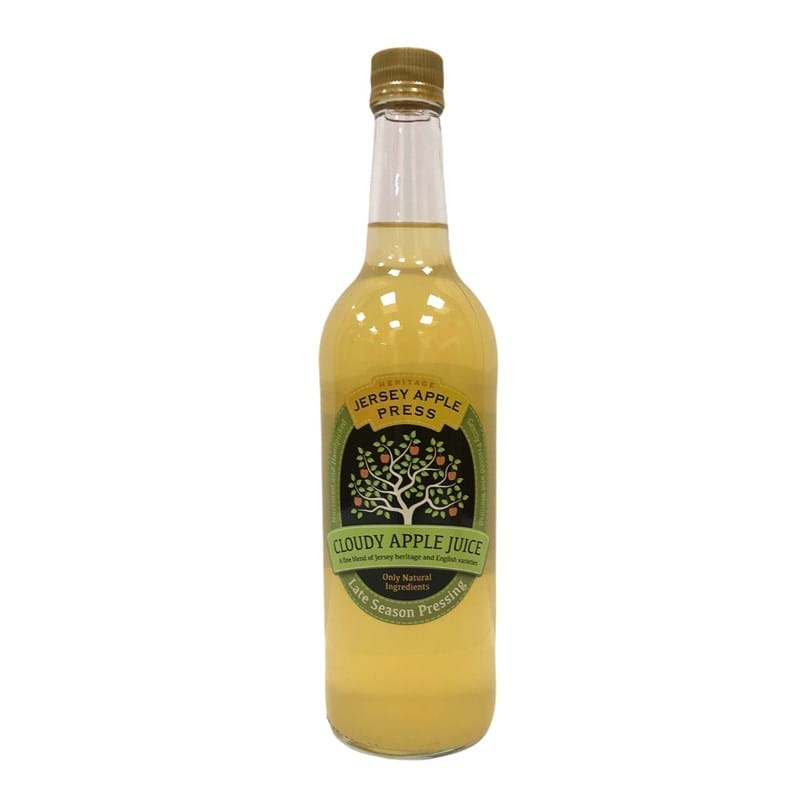 JERSEY APPLE PRESS Heritage Cloudy Apple Juice, Late Season Bottle (740ml) Image