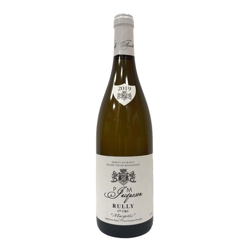 PAUL & MARIE JACQUESON Rully 1er Cru, Margotees 2019 Bottle Image
